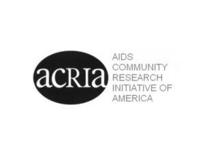 ACRIA & GMHC