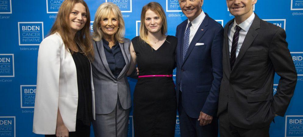 Almadas receive inaugural Joe Biden Cancer Award