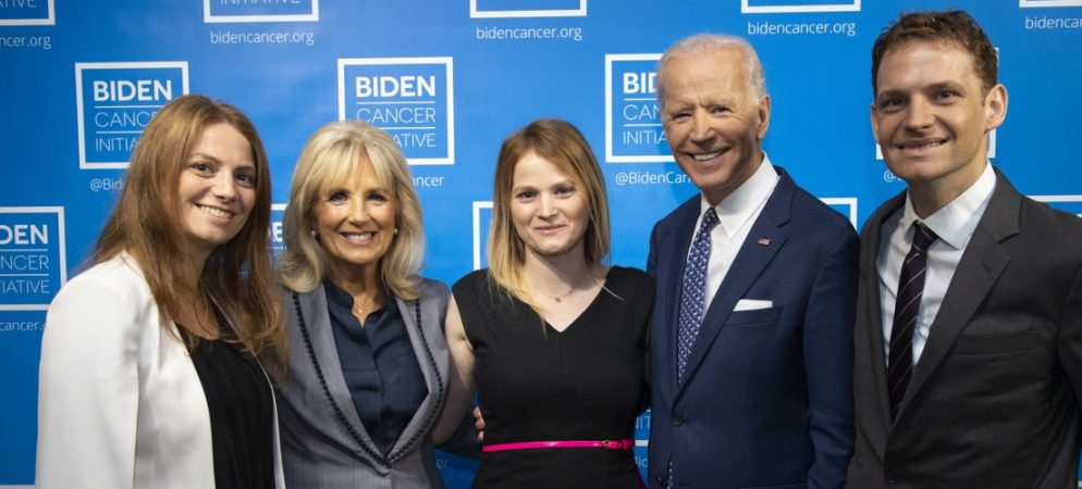 Almadas receive inaugural Joe Biden Cancer Award