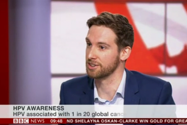 Creating HPV Awareness on BBC News